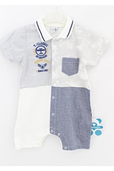 Sema Bebe Twetoon Baby Jumpsuit Tulum Erkek Bebek Giyim Bordo
